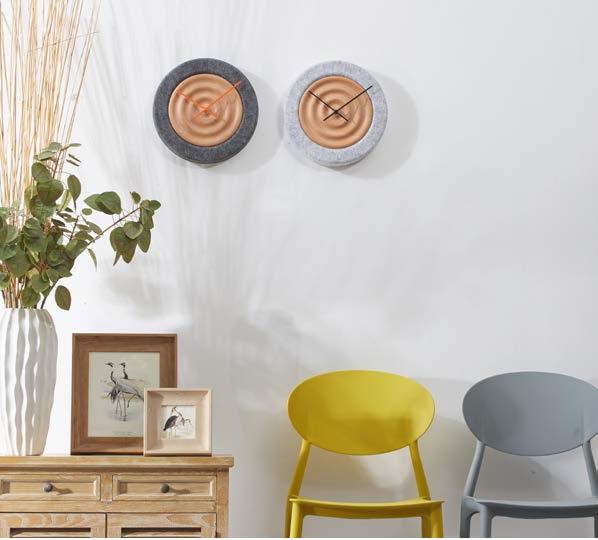 Декоративные акустические настенные часы