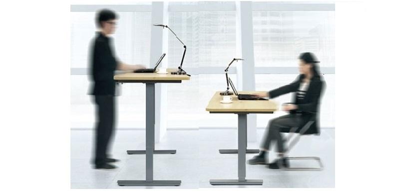 Электрический, регулируемый стол по высоте